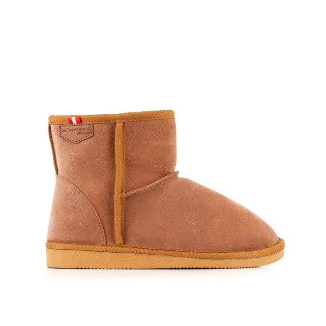 Boots cuir fourrιes Winter