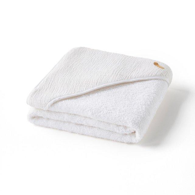 Μπουρνούζι-κάπα από βιολογική βαμβακερή γάζα, Cuddly