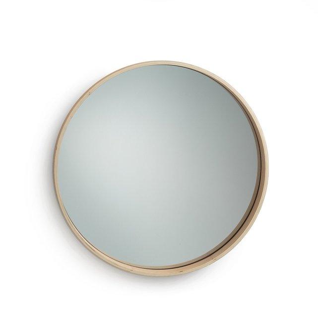 Στρογγυλός καθρέφτης από ξύλο δρυ, Alaria