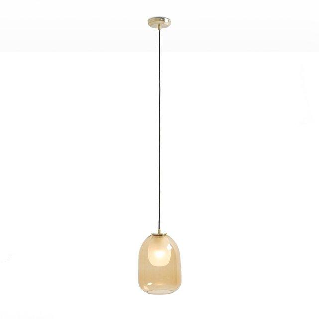 Φωτιστικό οροφής από μπρούντζο και διπλό γυαλί, Bumble