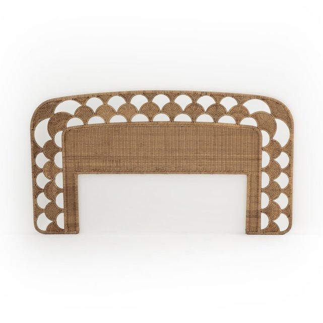 Κεφαλάρι κρεβατιού από πλεγμένο ρατάν, Palma