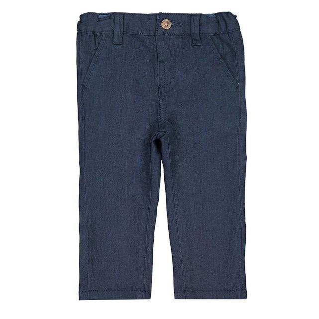 Παντελόνι με λοξές τσέπες, 1 μηνός-3 ετών