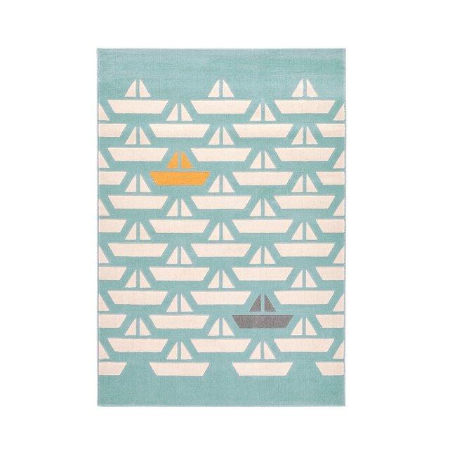 Παιδικό χαλί με μοτίβο καραβάκια, Galet