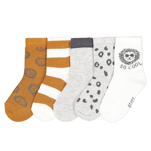 Σετ 5 ζευγάρια κάλτσες, 15 18-23 26