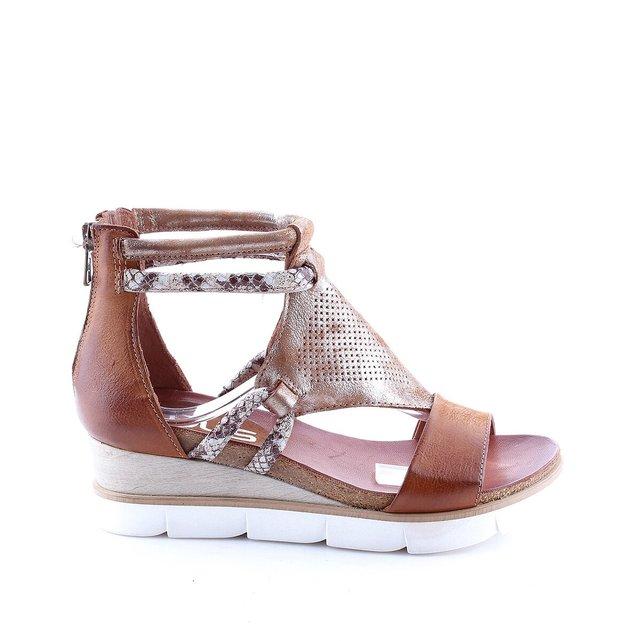 Sandales cuir talon compensι Tapasita