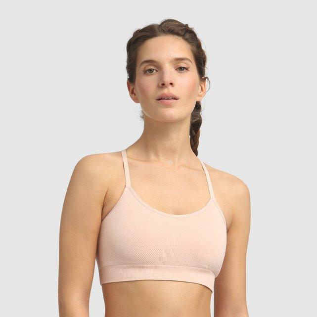 Αθλητικό μπουστάκι χωρίς ραφές για άσκηση ήπιας έντασης