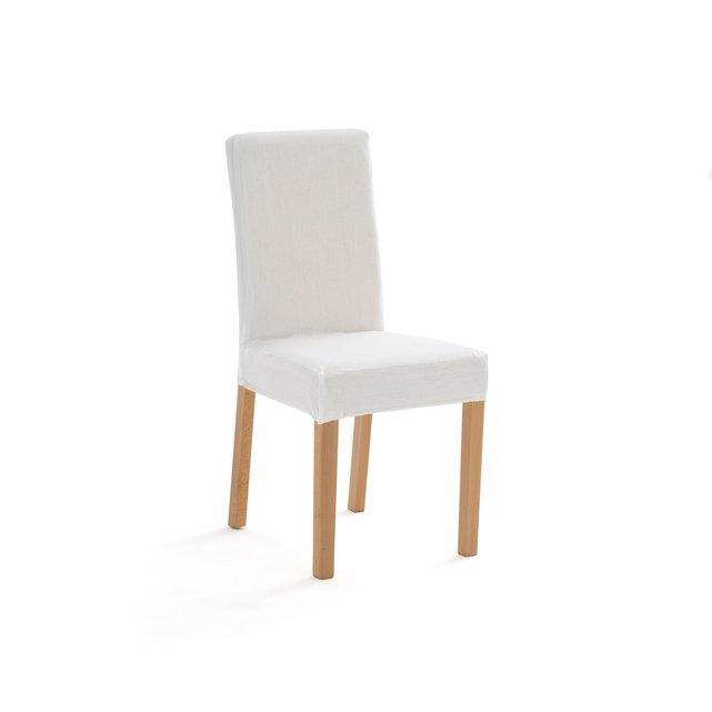 Κάλυμμα καρέκλας από 100% προπλυμένο λινό, DOMME