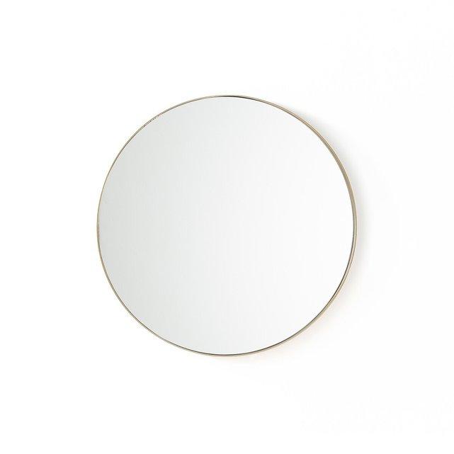 Στρογγυλός καθρέφτης από μπρούντζο Δ60 εκ., Iodus
