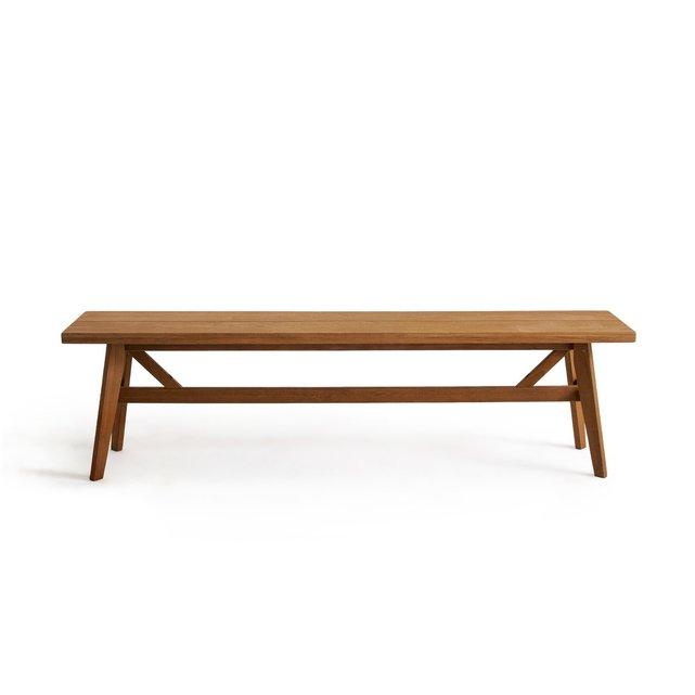 Πάγκος τραπεζιού από ξύλο teak, Sumba