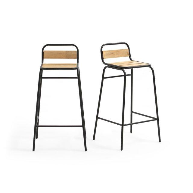 2 ψηλές καρέκλες κήπου, Hiba