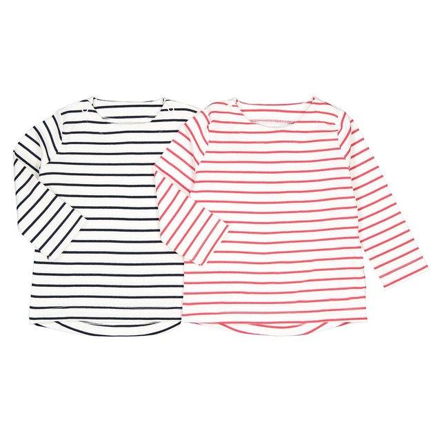 Σετ 2 μπλουζάκια σε στυλ μαρινιέρας, 1 μηνός-4 ετών