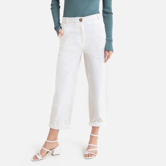 Παντελόνι chino tapered σε ίσια γραμμή