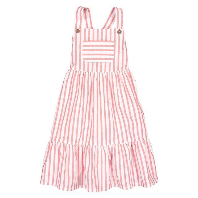 Ριγέ φόρεμα με τιράντες, 3 -12 ετών