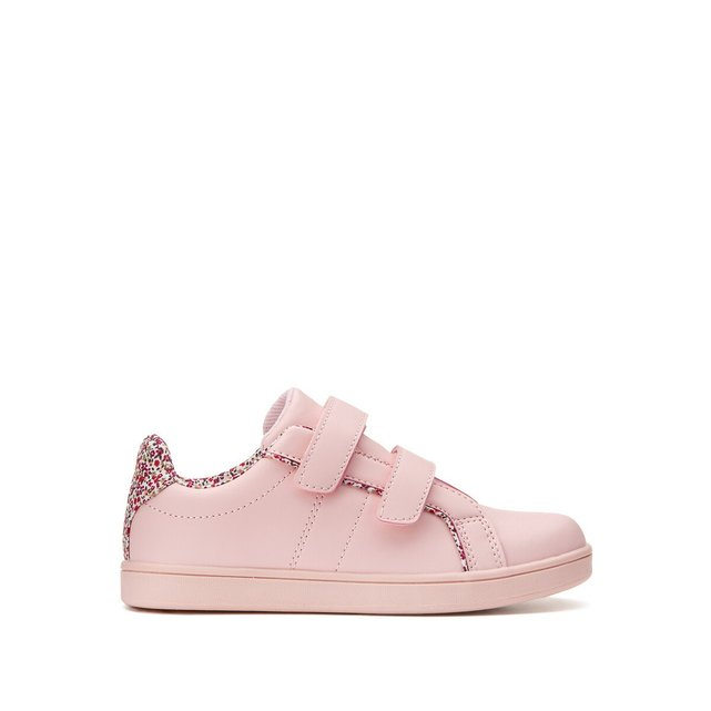 Kids Floral Print Trainers
