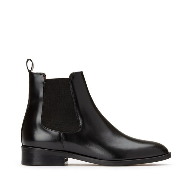 Dwain Leather Chelsea Boots