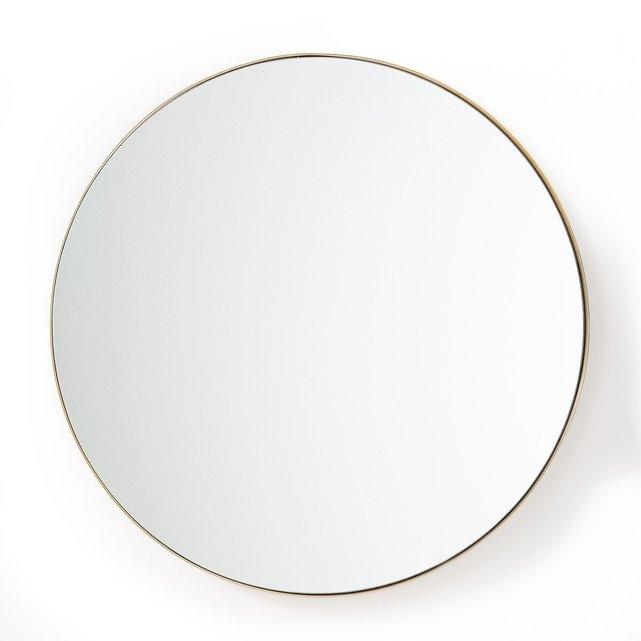 Στρογγυλός καθρέφτης από μπρούντζο Δ90 εκ., Iodus