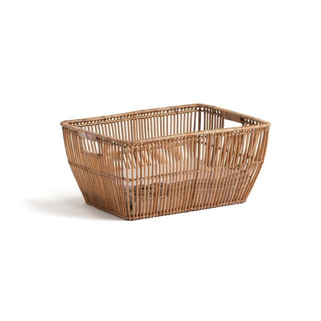 Καλάθι για άπλυτα από ρατάν Π50 x Υ24 εκ., Sentaku