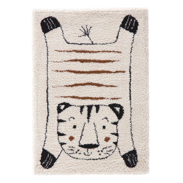 """Παιδικό χαλί με μοτίβο """"τίγρης"""", Lillio"""