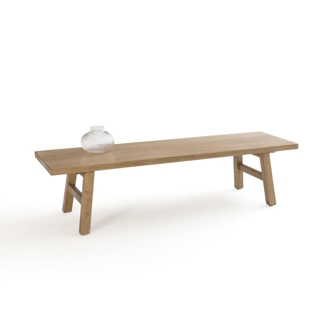 Χαμηλό τραπεζάκι από μασίφ ξύλο φτελιάς, Asayo