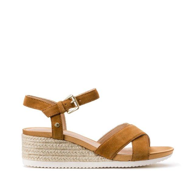 Ischia Corda Leather Sandals