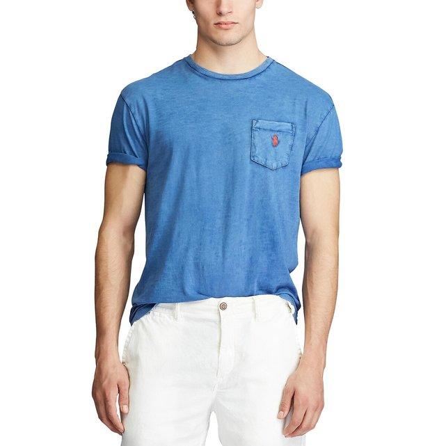 Κοντομάνικο T-shirt με τσέπη