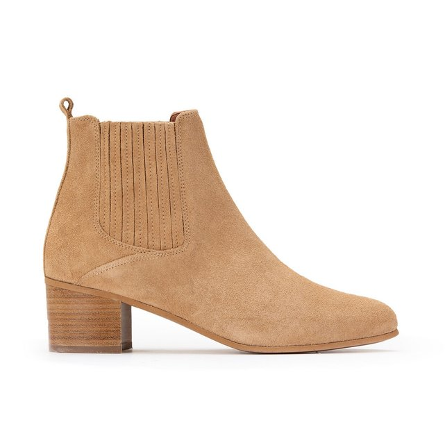 Debina Leather Ankle Boots