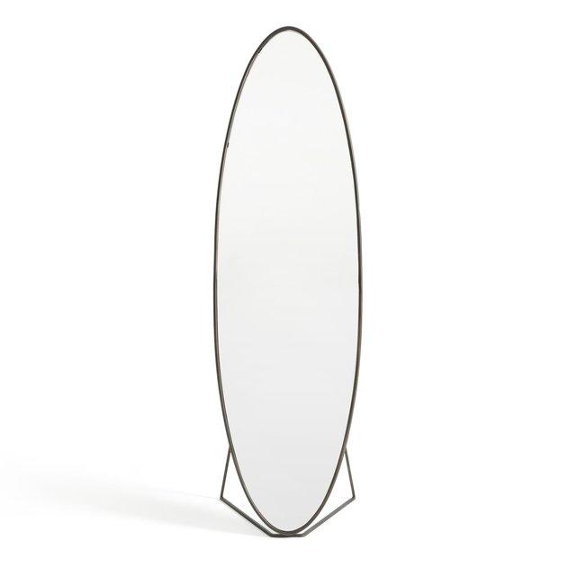 Οβάλ μεταλλικός καθρέφτης Υ169,5 εκ., Koban