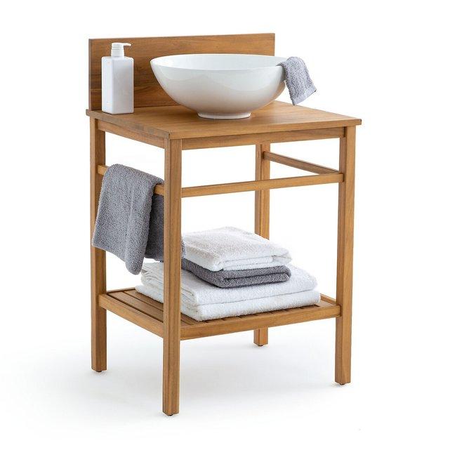 Έπιπλο νιπτήρα μπάνιου από ξύλο ακακίας 60 εκ., Mercure