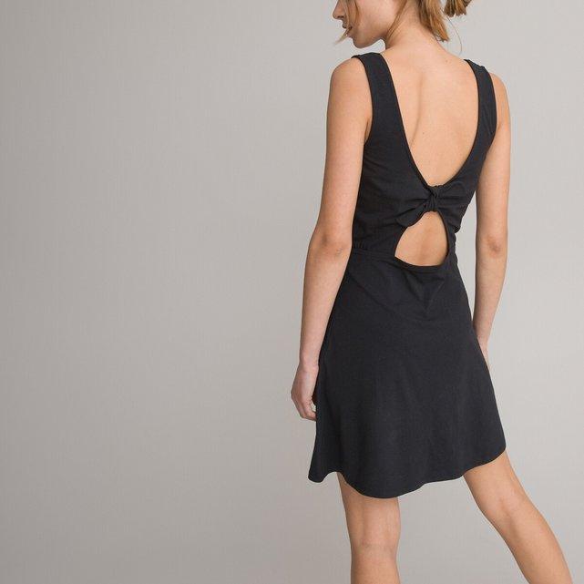 Αμάνικο φόρεμα με φιόγκο στην πλάτη, 10-16 ετών