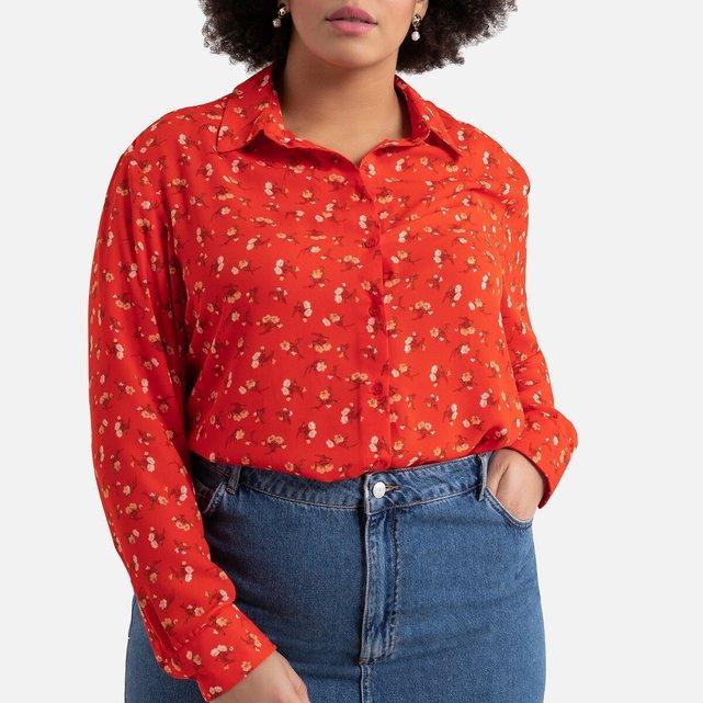 Μακρυμάνικο φλοράλ πουκάμισο