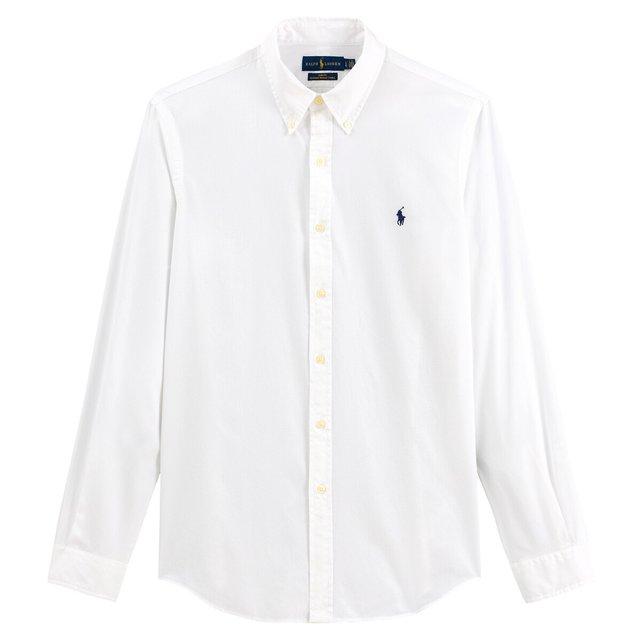 Slim πουκάμισο από στρετς ποπλίνα