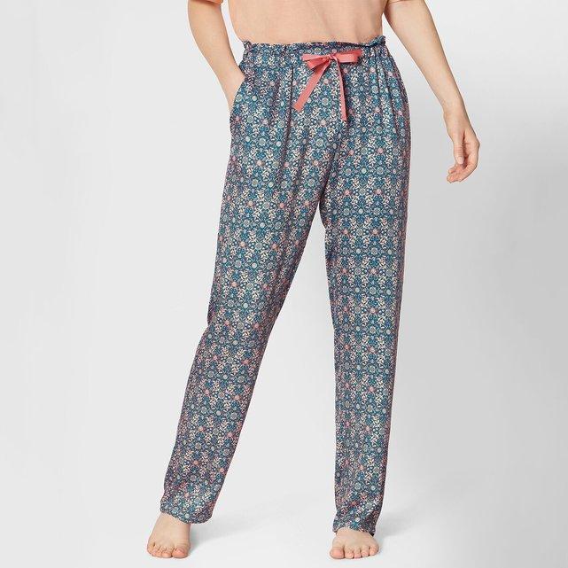 Εμπριμέ παντελόνι πιτζάμας Lounge-Me Natural