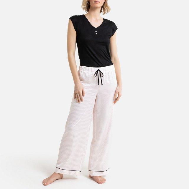 Πιτζάμα με σατέν παντελόνι, Polka