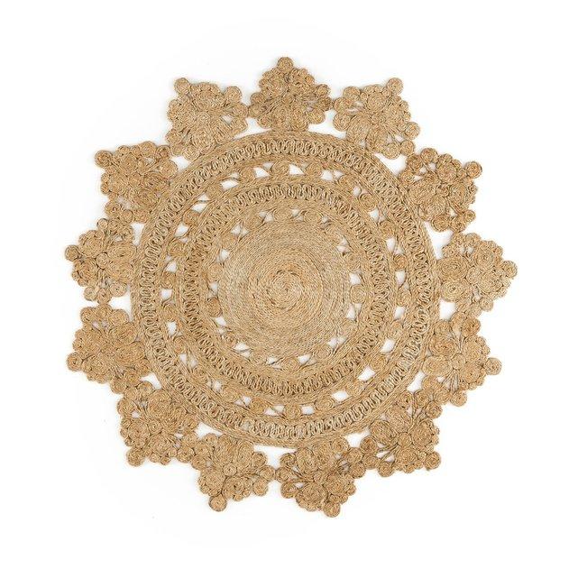 Στρογγυλό χαλί σε σχήμα ροζέτας, Rozza