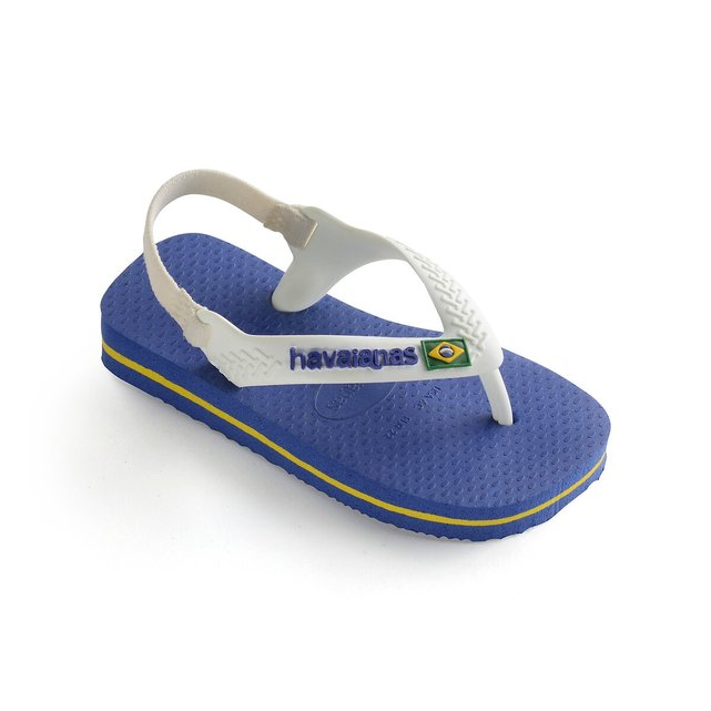 Baby Brasil Logo II Flip Flops
