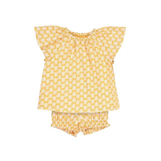 Εμπριμέ σύνολο μπλούζα και φουφούλα, 1 μηνός - 3 ετών