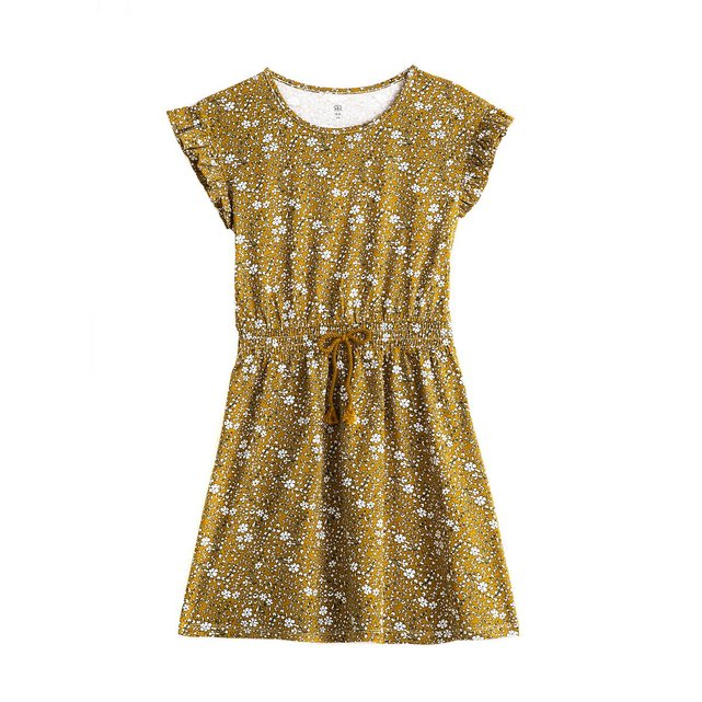 Κοντομάνικο φόρεμα με φλοράλ μοτίβο, 3 -12 ετών