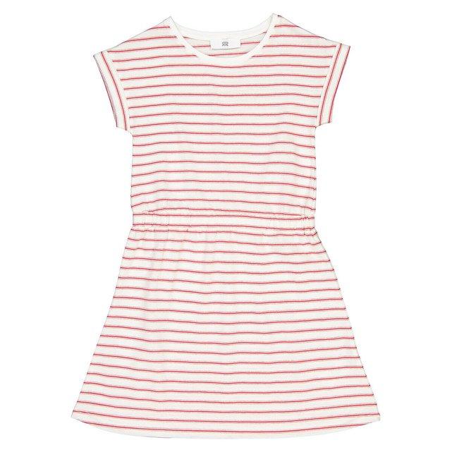 Κοντομάνικο ριγέ φόρεμα, 3-12 ετών