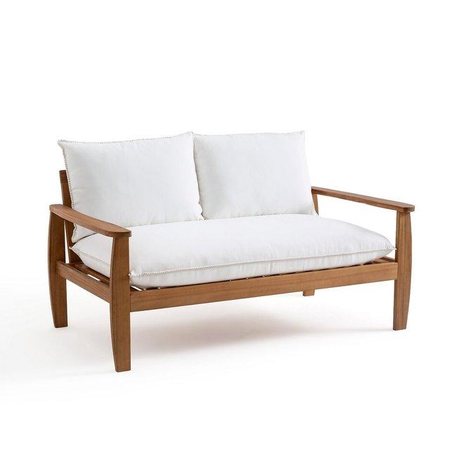 Καναπές 2 θέσεων από ακακία, Nellia