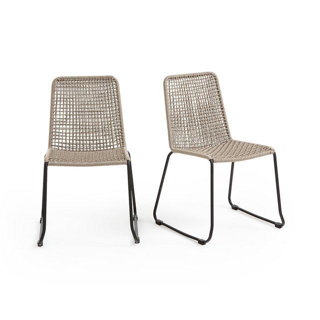 Σετ 2 καρέκλες κήπου, Saphir