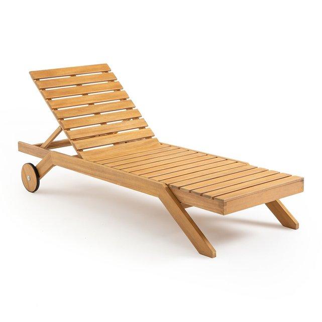 Ξαπλώστρα από ξύλο ευκαλύπτου FSC, Ambre