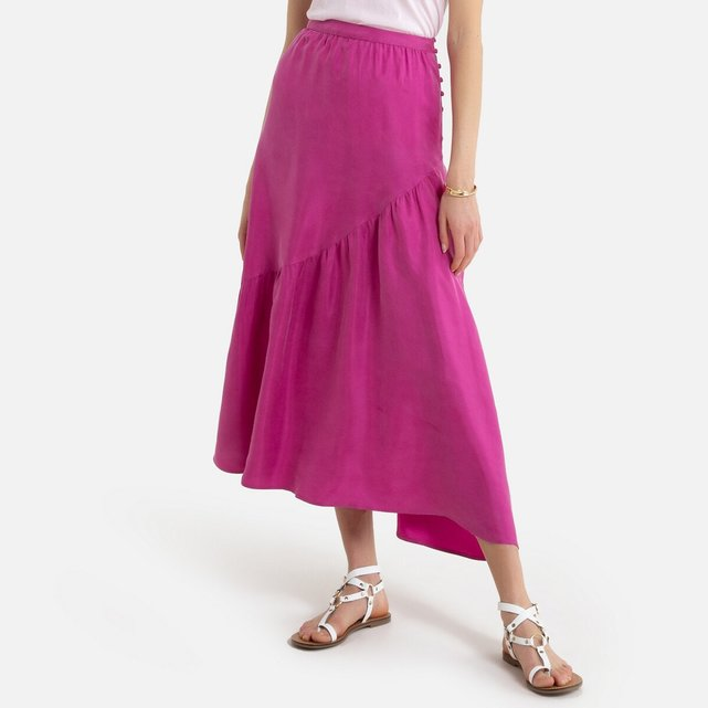 Μακριά φούστα με σούρες