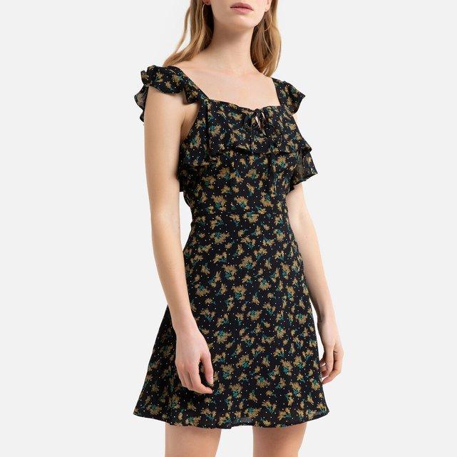 Κοντό φόρεμα με τιράντες