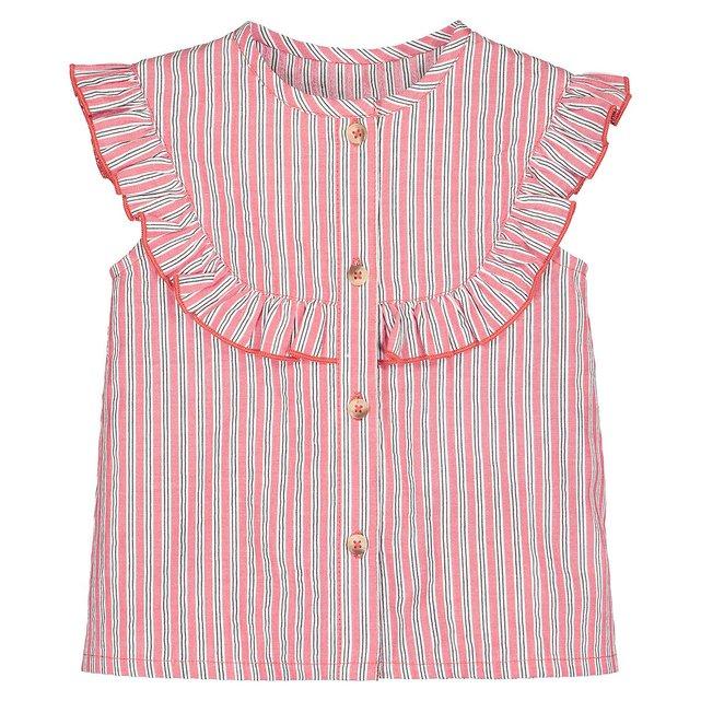Αμάνικη ριγέ μπλούζα, 1 μηνός-3 ετών