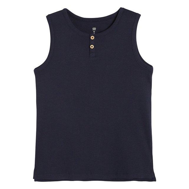 Αμάνικη ριμπ μπλούζα, 3-12 ετών