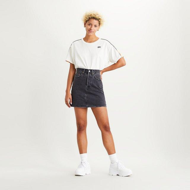 Κοντή τζιν φούστα, HR Decon Iconic BF