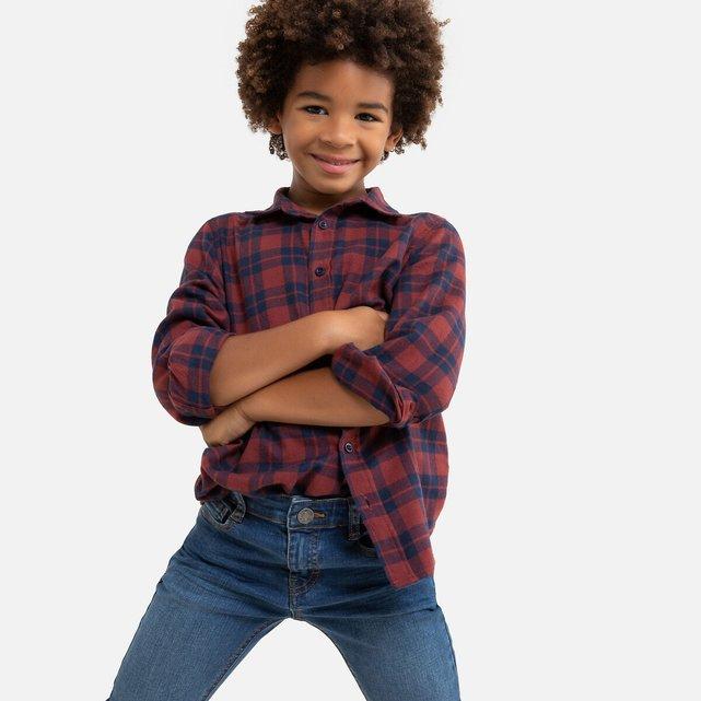 Μακρυμάνικο καρό πουκάμισο, 3 - 12 ετών