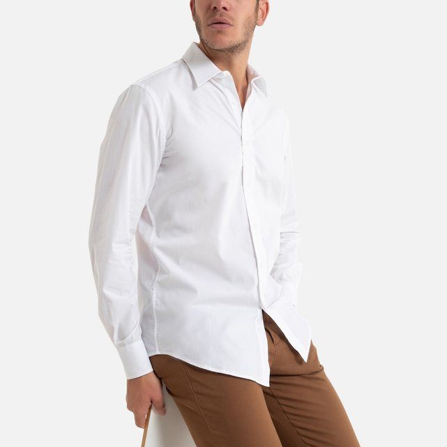 Μακρυμάνικο slim πουκάμισο