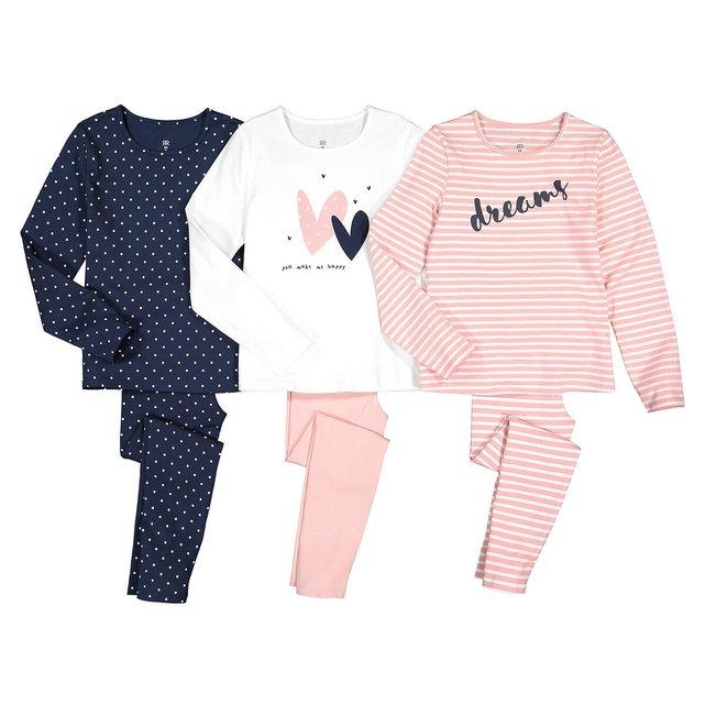 Σετ 3 πιτζάμες, 3-12 ετών