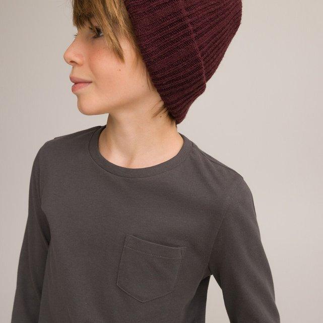Σετ 3 μονόχρωμες μακρυμάνικες μπλούζες, 3-14 ετών